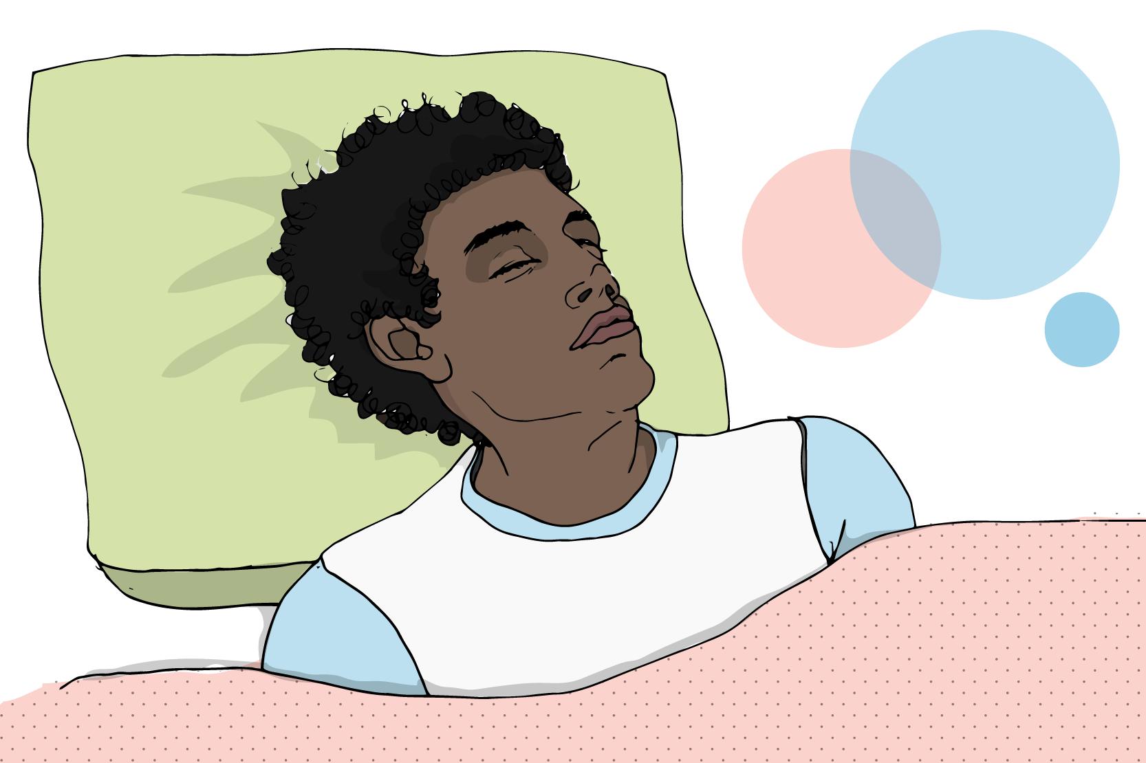 Jag har knappt atit eller sovit