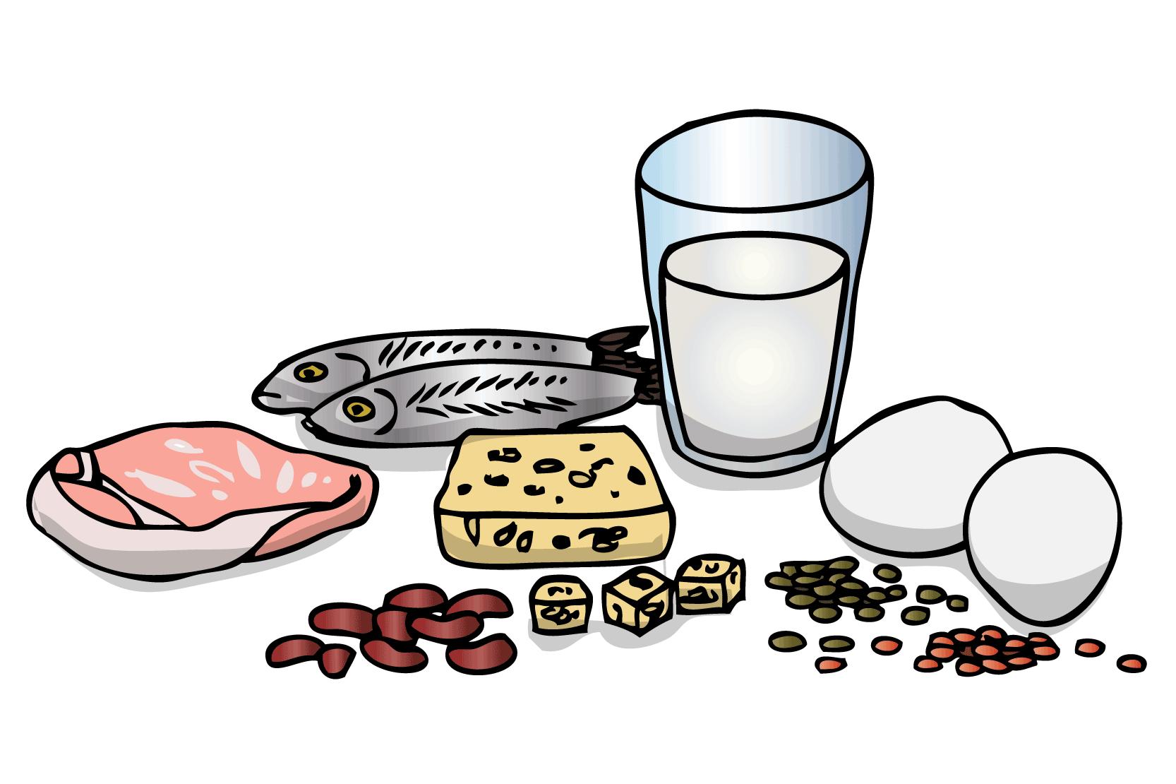 bra mat när man mår illa