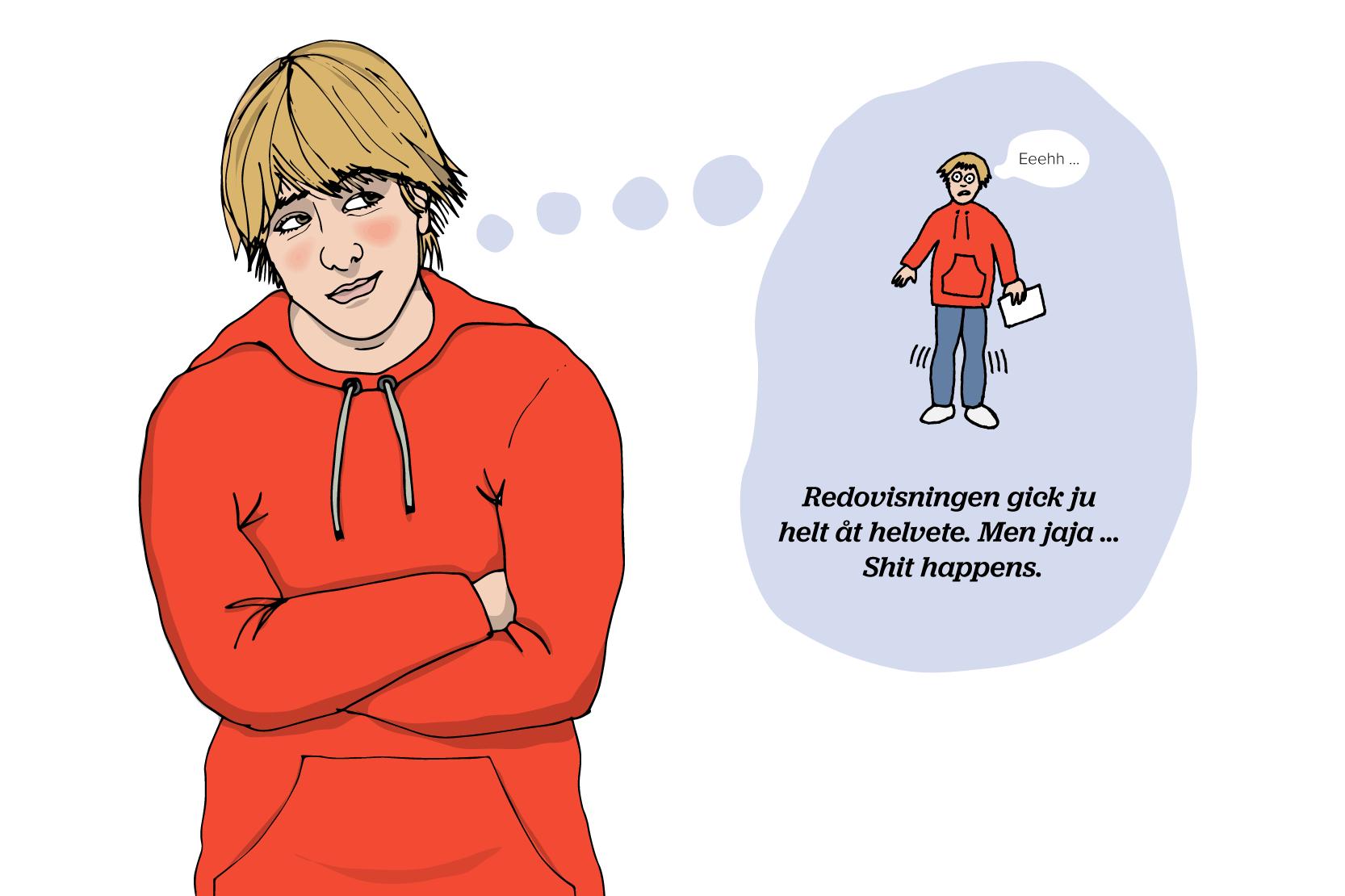 dålig självkänsla symptom