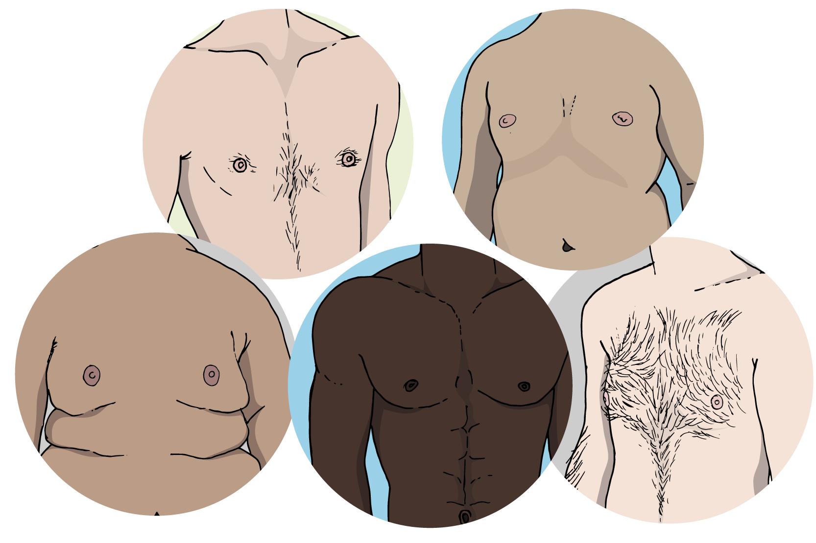 svullen under bröstet
