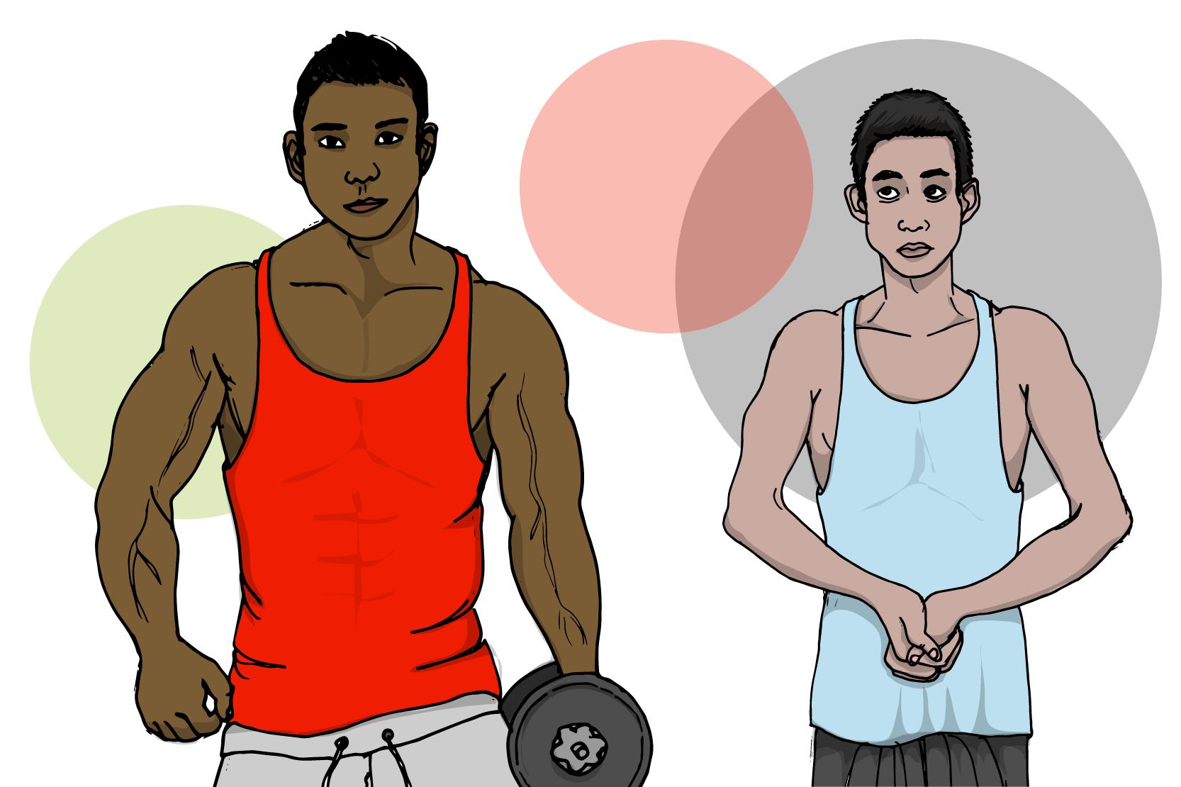 En kropp flera personligheter