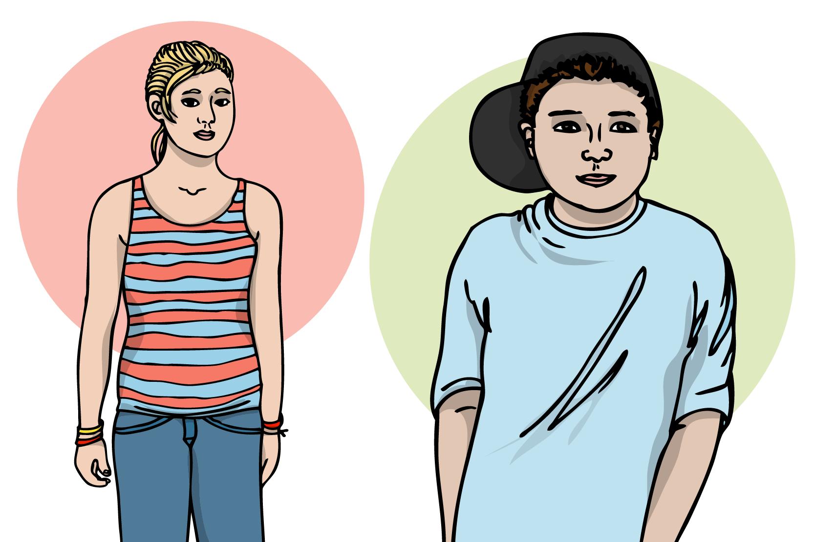 kön av tonårs ålder