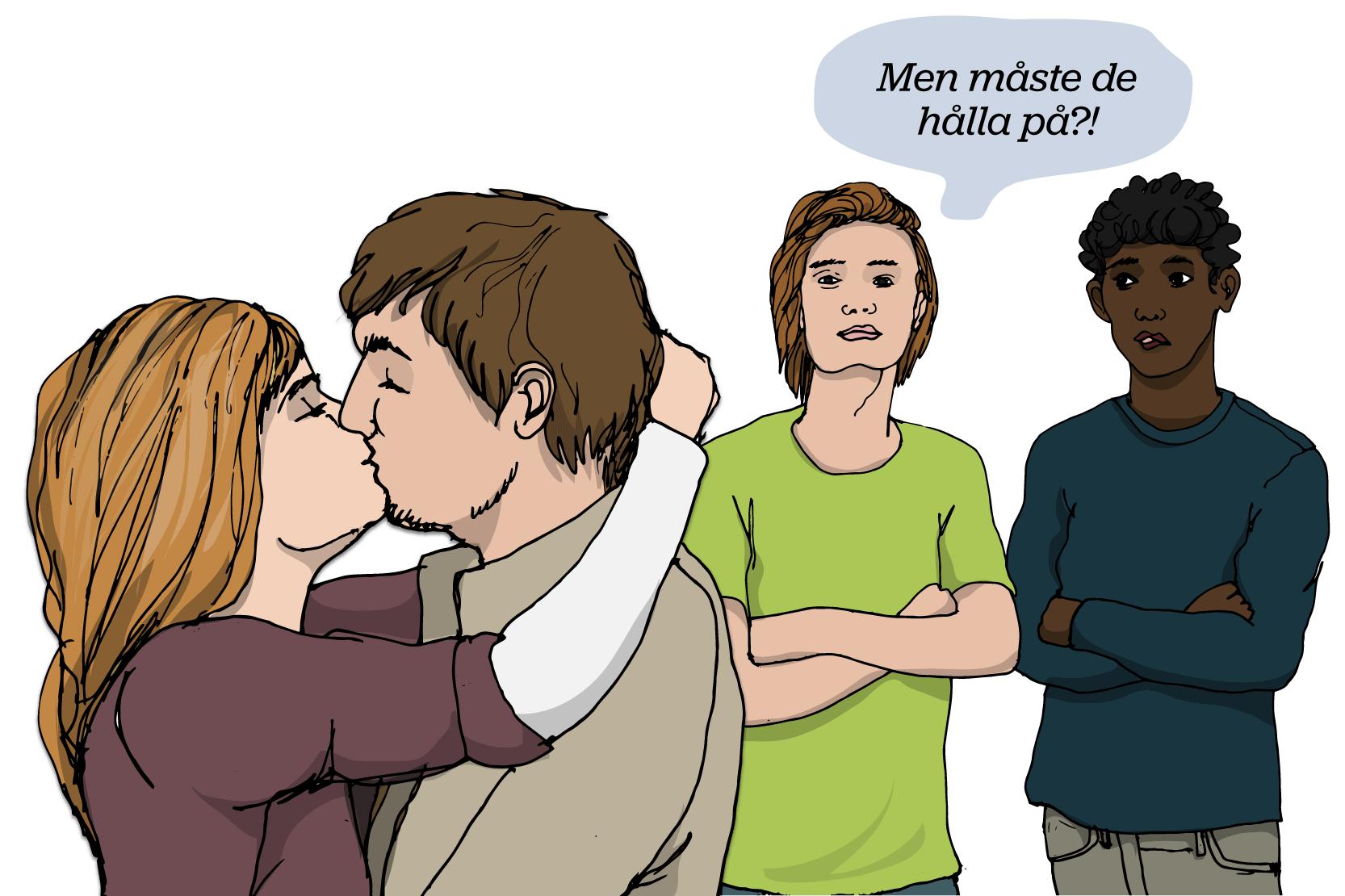 Hur man handskas med en kille som bara vill koppla in