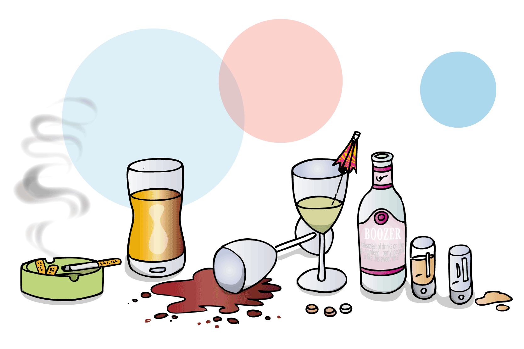Manga alkoholberoende ser sig inte som missbrukare