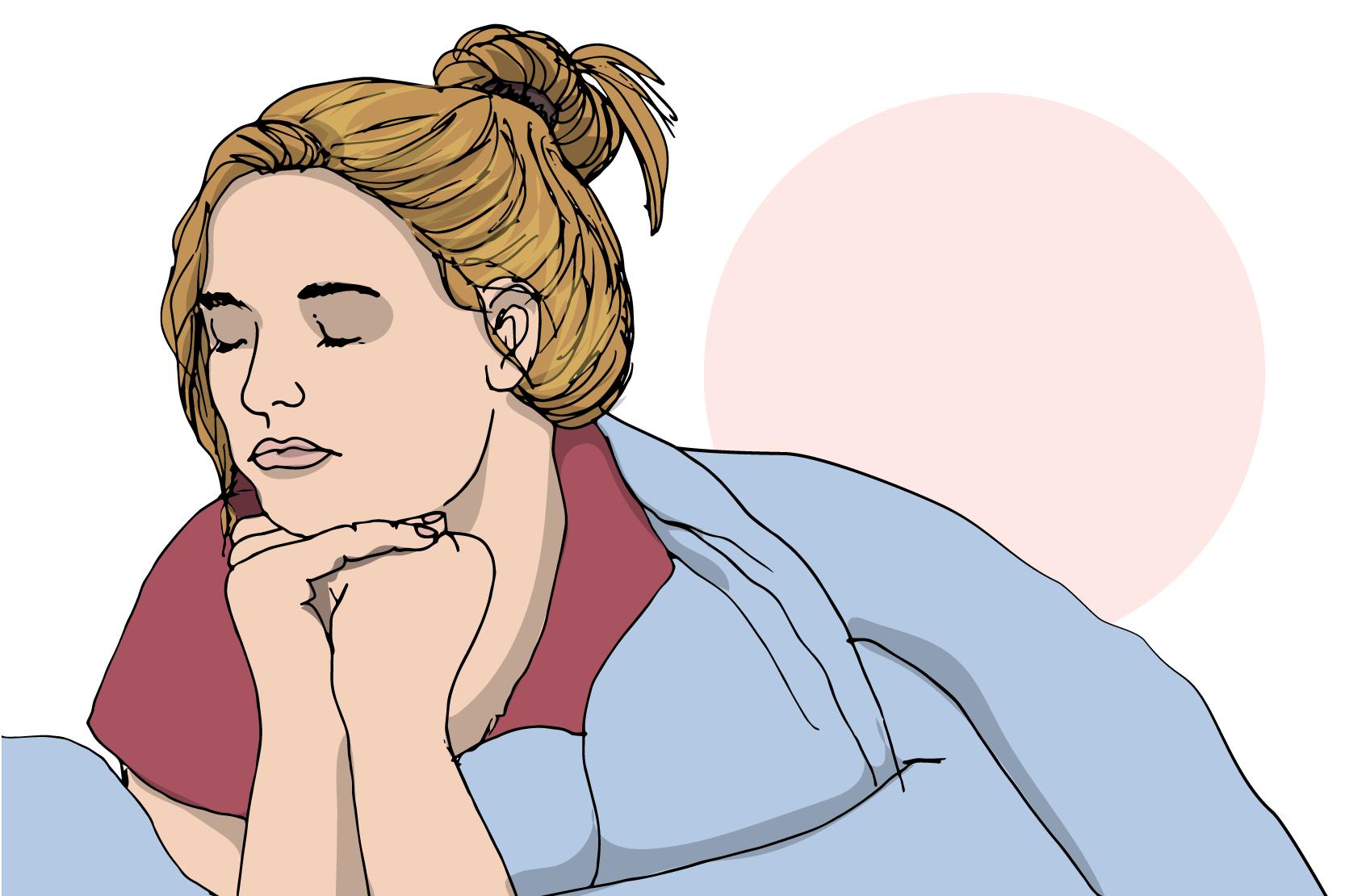 trötthet som inte går att sova bort